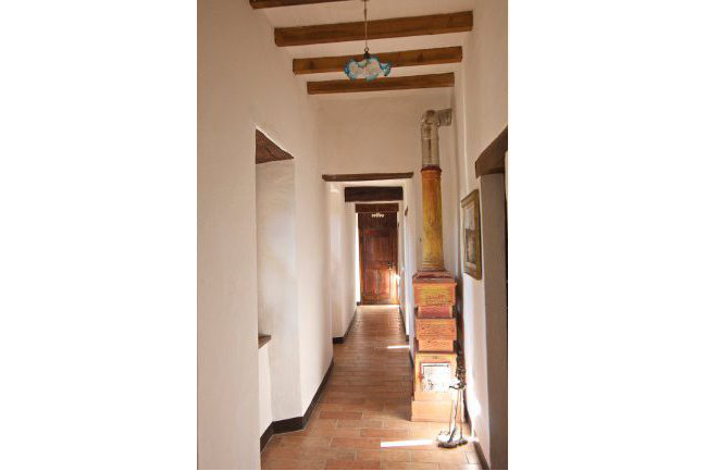 Corridor with Ceramic Stove